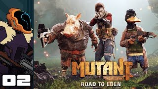 Let's Play Mutant Year Zero: Road To Eden - PC Gameplay Part 2 - Relics Of The Past