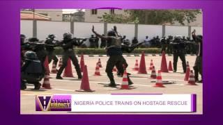 NIGERIA POLICE TRAINS ON HOSTAGE RESCUE