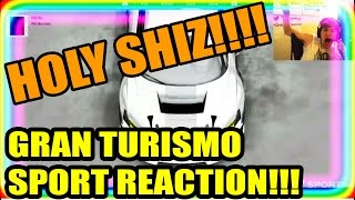 GRAN TURISMO SPORT GAMEPLAY TRAILER REACTION!!!! (THIS GAME INSANE!!!)