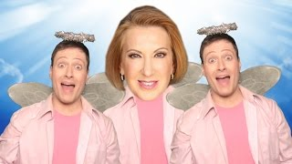 """Carly Fiorina """"GOP DROPOUT"""" - Song Parody by Randy Rainbow"""