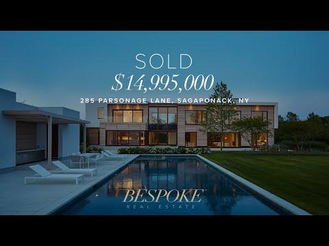285 Parsonage Lane Sagaponack, Hampton Real Estate