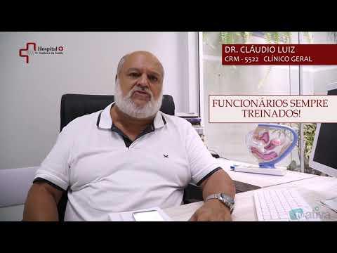 HOSPITAL N. SENHORA DA SAÚDE - EQUIPE ALTAMENTE QUALIFICADA