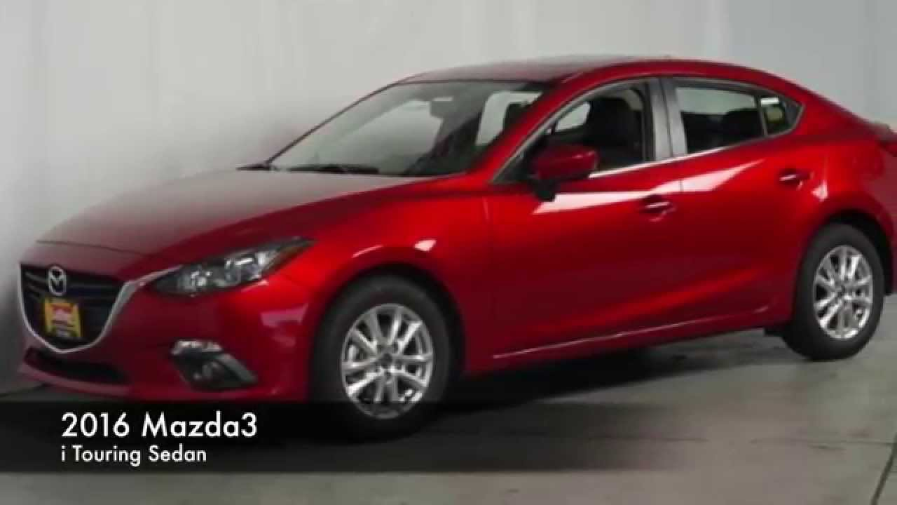 2016 Mazda3 I Touring In Red Luther Brookdale Mazda