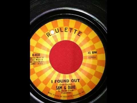 SAM AND DAVE...I FOUND OUT...ROULETTE mp3