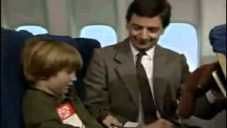 Mr Bean Viaja En Avion