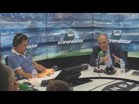 """José Ramón de La Morena entrevista a Javier Tebas: """"Rubiales ya ha hecho bueno a Villar"""""""
