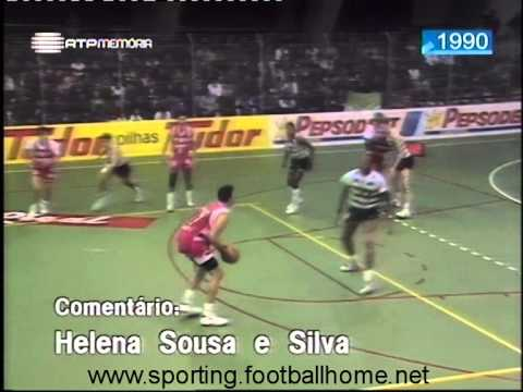 Basquetebol :: Sporting - 70 x E. Avenidas - 77 de 1989/1990 - Play-off 1/4 Final - 4 Jogo