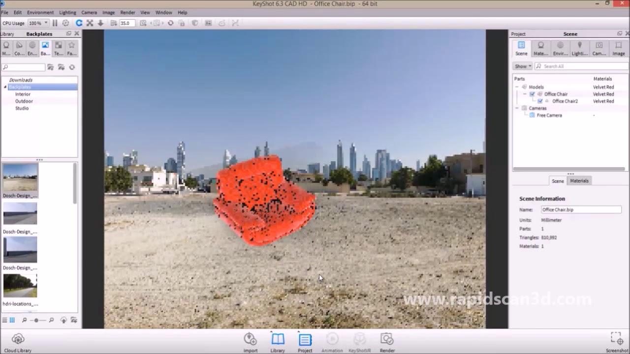 Rendering Basics with KeyShot Software - YouTube