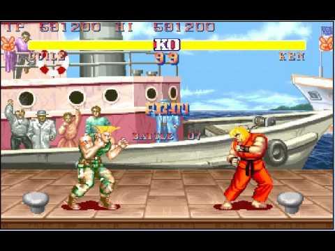 M A M E  - Street Fighter II: The World Warrior [World