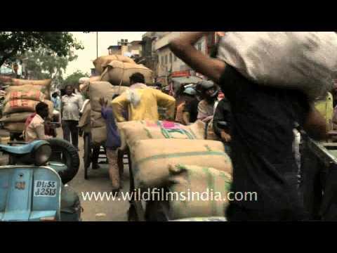Old Delhi's oldest bazaar - Khari Baoli