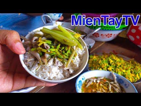ăn Banh Xeo ở Thiền Viện đong Lai Chua Banh Xeo Pagoda Pancakes Miền Tay Tv Youtube