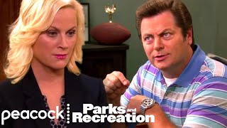 Parks and Recreation - Ron Sans Mustache (Episode Highlight)