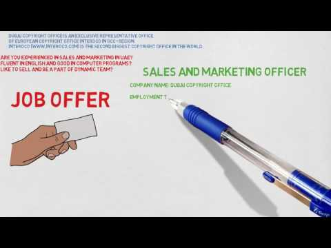Sales and Marketing Officer vacancy in UAE
