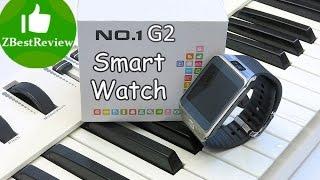 смарт часы NO.1 G2 Smartwatch с Gearbest. Unboxing