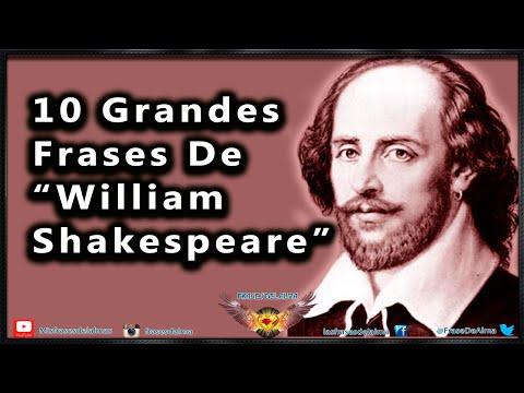 Frases De William Shakespeare 10 Citas Célebres Nº 1 Youtube