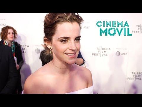 Emma Watson y Ellar Coltrane hablan sobre 'El Círculo', con Tom Hanks