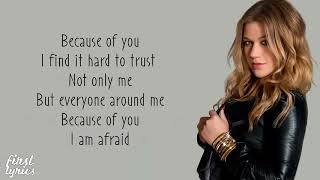 Kelly clarkson - because of you ...