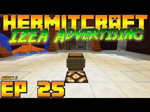 Minecraft Hermitcraft Vanilla - S2E25 - IZEA Advertising