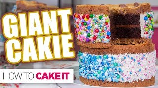 GIANT CAKIE  How To Cake It