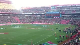 Springboks running on (SA vs Ireland in Johannesburg 18 June 2016)