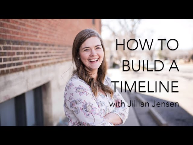 VIDEO: How to create a wedding timeline