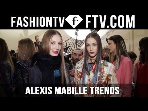 Paris Fashion Week F/W 16-17 – Alexis Mabille Trends | FTV.com