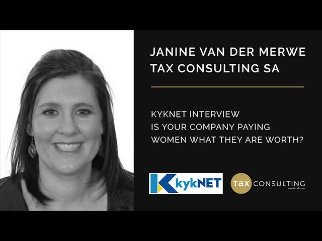 Janine van der Merwe - Tax Consulting SA - KykNet