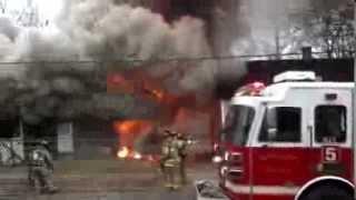 Winston Salem Fire Department, Team work at it