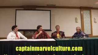 Captain Marvel panel with Roy Thomas, Jackson Bostwick at Big Apple Comic Con