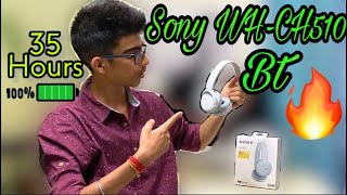Sony WH-CH510 Unboxing and Review in Hindi
