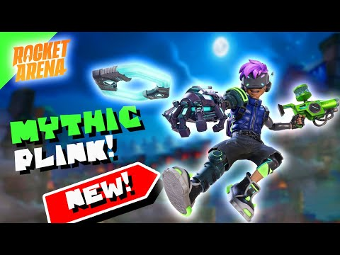 New Mythic Plink Skin In Rocket Arena Coming Soon! |