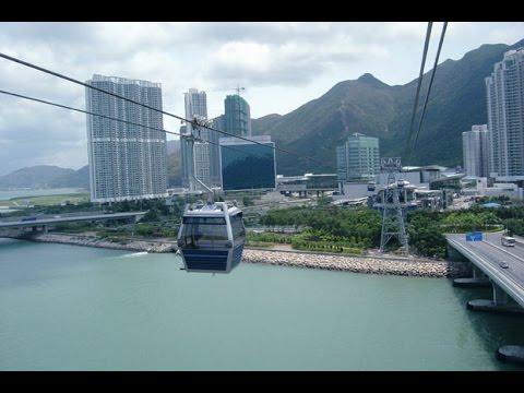 LEITNER ropeways- Ngong Ping 360, Hong Kong