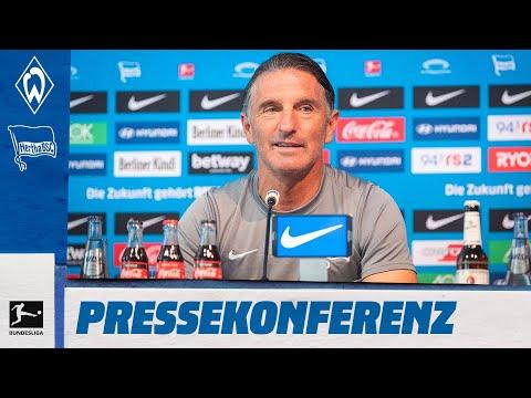Re-Live: PK vor Werder Bremen   Bundesliga   Hertha BSC