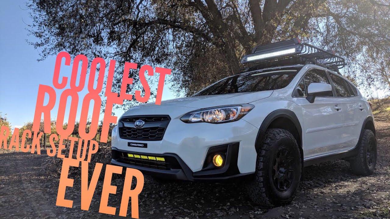 The best 2018 Subaru Crosstrek Roof Rack Setup EVER! - YouTube