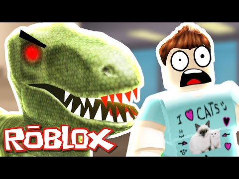 Roblox - Murder Mystery 2 - DINOSAUR RUNS RAMPAGE!!