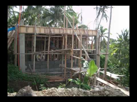 Building Our House In The Philippines Youtube