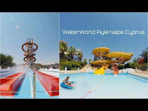 WaterWorld Ayia Napa Cyprus (All Slides)