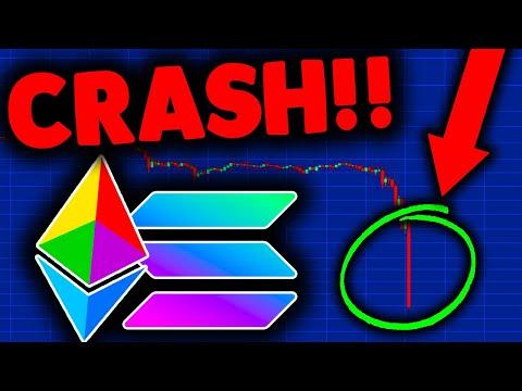 EMERGENCY ETHEREUM CRASH (must watch)!!! ETHEREUM PRICE TARGETS, NEWS & SOLANA PRICE PREDICTION 2021