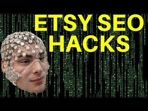 ETSY SEO TIPS TRICKS HACKS AND SECRETS (get more sales on Etsy)