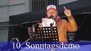 Wir sind Deutschland Kundgebung Plauen 22.11.2015 | 10. Sonntagsdemo