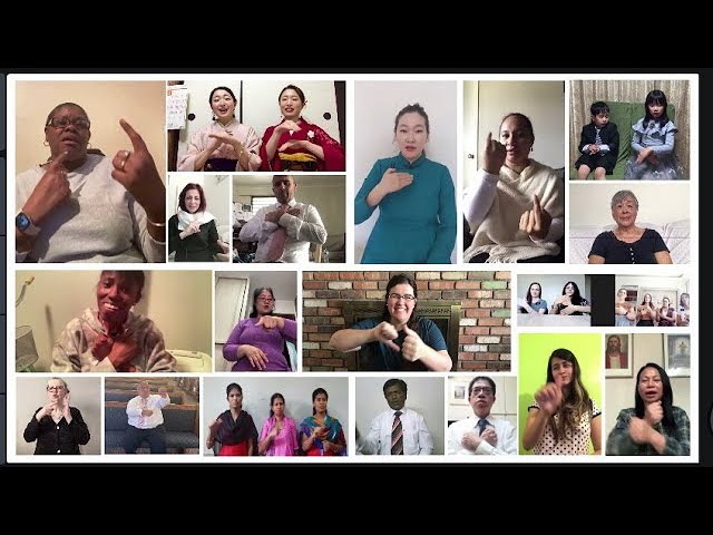 Video: Love One Another in 12 World Sign Languages (Mongolia, New Zealand, Italy, Japan, Brazil)