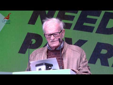 Harry Leslie Smith #18Oct speech