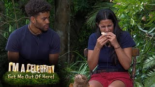 The Eating Trial Is a Lot to Stomach for Sair and Malique | I'm a Celebrity... Get Me Out of Here!