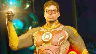 Injustice 2 PC - All Super Moves on Green Lantern Fallen Lantern Costume 4K Ultra HD Gameplay