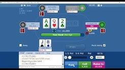 £5 Bounty Hunter on Sky Poker Final Table