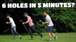 Fastest Person To Play 6 Holes of Golf Wins $100