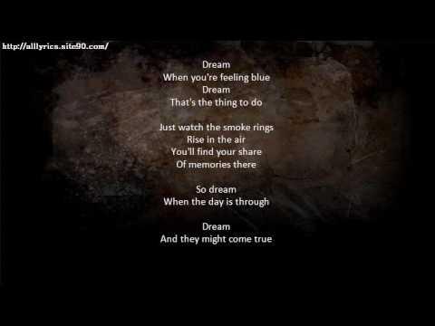 DIANA KRALL Dream Lyrics