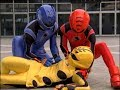 Power Rangers Jungle Fury - Bad to the Bone - Power Rangers vs Porcupongo (Episode 15)