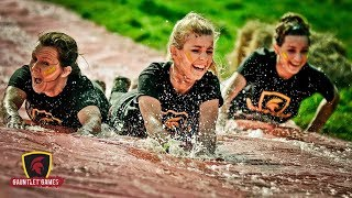 Gauntlet Games 2017 Brighton - Gladiators, Roman Legionnaires, Mud And Water - Brilliant Ocr Fun