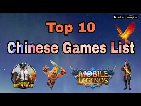 Top 10 Chinese Games List | Chinese App List 2020 | Chinese Mobile Games In India | Chinese Apps